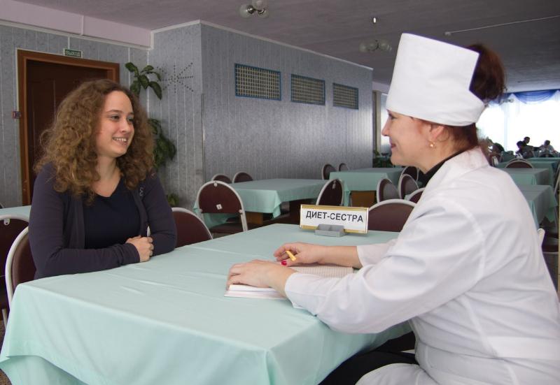 Вакансия Медицинская сестра по диетологии в Санкт